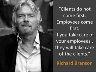ציטוט של איש העסקים ריצ'רד ברנסון