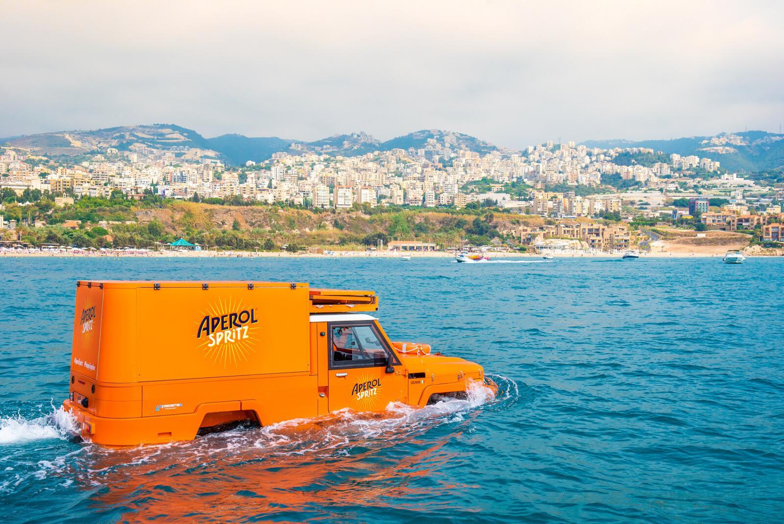 הרכב האמפיבי של Aperol